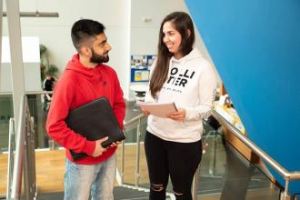 We're here to support YOU. Everything we do at University Centre Peterborough is centred around our students. We do this by: -Small...