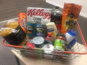 It's National Student Money Week and UCP have got a number of different challenges on campus including the Shopping Basket Challenge....