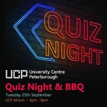 We've got our Quiz Night and BBQ tonight to kick off Fresher's Week. £1 to enter and you get a FREE BBQ! https://t.co/iSWJKlzDD6