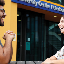 Ever wondered what it's like being a student at University Centre Peterborough? The Moment Magazine spoke to two of our students about to...