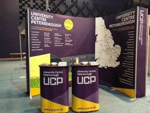 We're exhibiting at Peterborough B2B Exhibition today. Come and find us to hear more about University Centre Peterborough! (We're near...