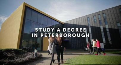 Study a degree in Peterborough and get closer to a great career. 70% of graduates achieved a first class or 2:1 degree in 2016/17....