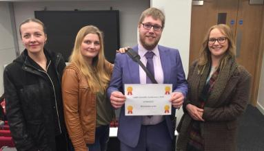 Bioscience student's win at the CABS Scientific Conference 2019 🎉 Read all about it here: https://t.co/egxSJtDBnD https://t.co/NJ0nMwo8b9