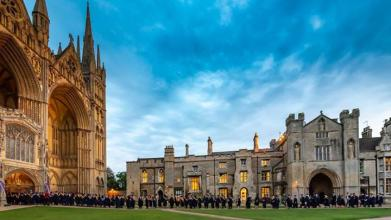 This week's #ThrowbackThursday is throwing it back to September 2018 at our graduation ceremony in the impressive Peterborough Cathedral...
