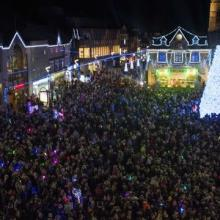 It's beginning to look a lot like Christmas! Christmas lights switch on at Cathedral Square, Peterborough this Friday (16th) from 4:00pm...