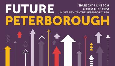 Future Peterborough business event at UCP on Thursday 13th June 2019 8:30am – 12:30pm. Come along! This is designed for small and medium...