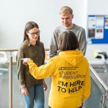 If you would like a CAMPUS TOUR at our next Open Day on Thursday 11th January 2018, these are led by a Student Ambassador and will start...