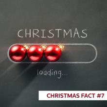 CHRISTMAS FACT #7 In the last few years, BT reported a 95% increase in Wi-Fi use on Christmas Day, while Virgin Media noted the average...