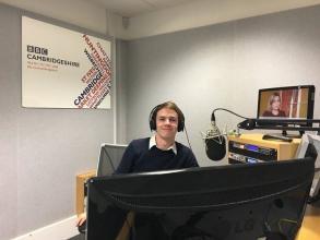 Thank you to BBC Radio Cambridgeshire and presenter Sam Edwards for showing 2nd year Multimedia Journalism student, Dan Mason around the...