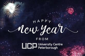 Happy New Year from all of the staff at University Centre Peterborough. We wish you a very prosperous and rewarding 2018.