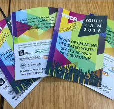 3 more sleeps until Youth Jam 2018. This is on Saturday 21st July. University Centre Peterborough will be there in Cathedral Square so...