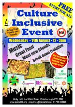 What are you up to on Wednesday 14th August 12pm - 3pm? Why not head along here for music, great food, meet new friends and break down...