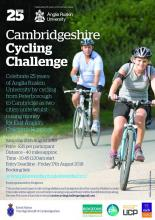 Fancy a challenge? Why not take part in the Cambridgeshire Cycling Challenge and cycle 40 miles from University Centre Peterborough to...