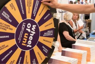 We're excited to attend the Suffolk Skills show tomorrow and we're bring our famous Wheel of Uni with us. What subject will it land on...