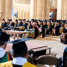 Graduation ceremonies held for University Centre Peterborough 2020 and 2021 students at Peterborough Cathedral