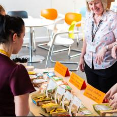 A new range of food available for students
