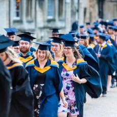 UCP graduates celebrate at Peterborough Cathedral