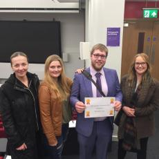 Bioscience student's win at the CABS Scientific Conference 2019